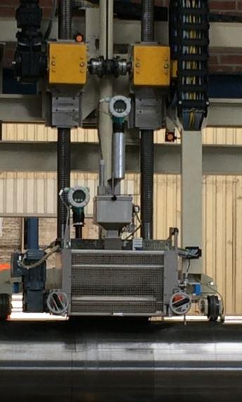 Konservierungsautomat in Betrieb